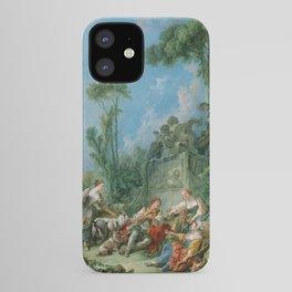 "François Boucher ""Shepherd's Idyll"" iPhone Case"