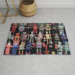Robot Army Rug
