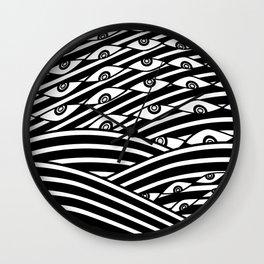 """""""Amok"""" by Drew Litowitz Wall Clock"""