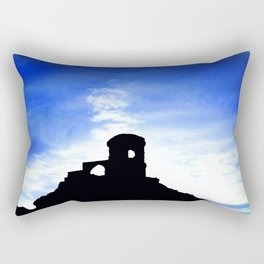 Mowcop Folly Sunst Silhouette Rectangular Pillow