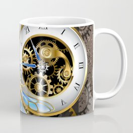 Dials with Dragonfly ( Steampunk ) Coffee Mug