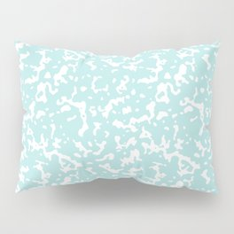 Mint and White Composition Notebook Pillow Sham