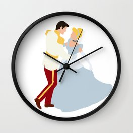 Cinderella and Henry Wall Clock