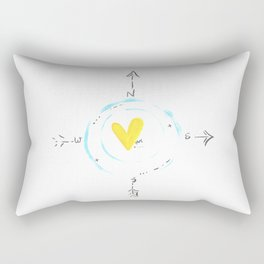 Self Finder Rectangular Pillow