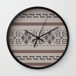 The Big Lebowski Cardigan Knit Wall Clock