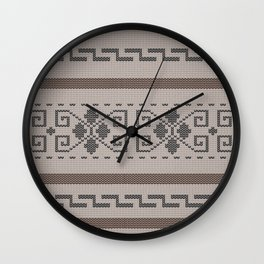 The Big Lebowski Cardigan Knit Wall Clock