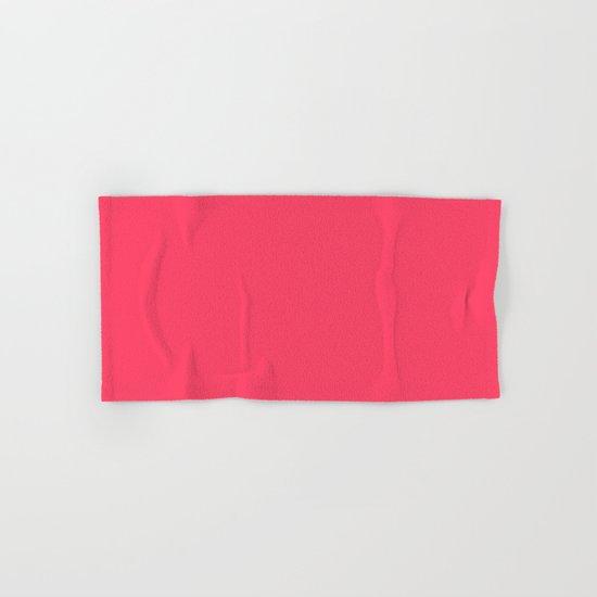 Sugar Heart (Pink) Color Hand & Bath Towel