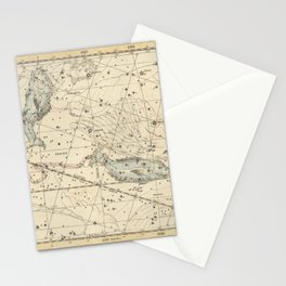 Alexander Jamieson - Celestial Atlas 1822 Plate 22 Pisces Stationery Cards