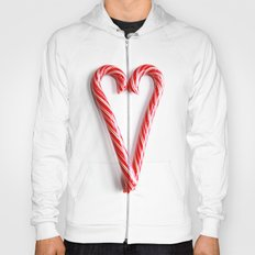 Candy Cane Heart Hoody