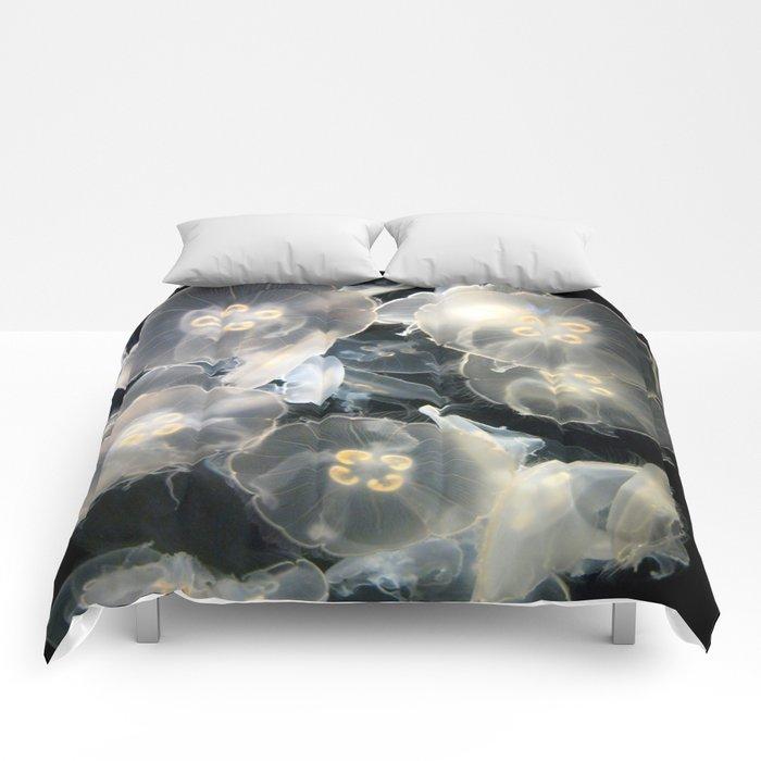 JellyFish Garden Comforters