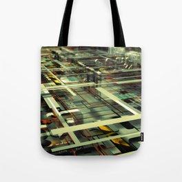 3D poster Tote Bag