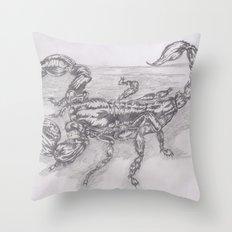 emperor scorpion Throw Pillow