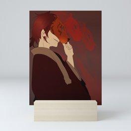Masked Mini Art Print
