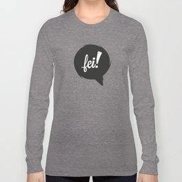 FEI blk/wht Long Sleeve T-shirt