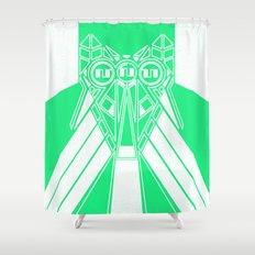 Power Wolf Lite Shower Curtain