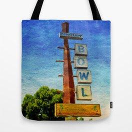 Century Bowl - Merced, CA Tote Bag