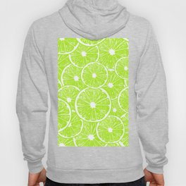 Lime slices pattern Hoody