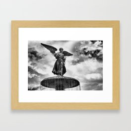 ANGEL OF THE WATERS Framed Art Print