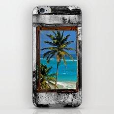 WINDOW ON PARADISE iPhone & iPod Skin