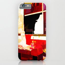 Times Square II (abstract colour print) iPhone Case