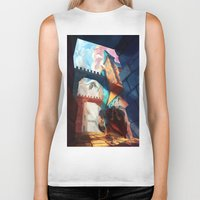 mother of dragons Biker Tanks featuring Dragons by youcoucou