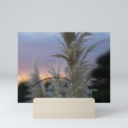 Pampas Grass & Sunset Mini Art Print