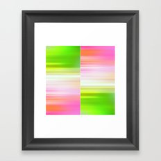 The Sound of Light and Color II Framed Art Print