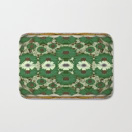 Remember the summer,if it is winter pattern Bath Mat