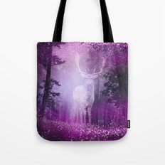 Fairy deer out of the woods Tote Bag