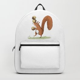 Squirrel With Acorns Backpack