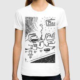 Ape at Bar Tells It Like It Is T-shirt