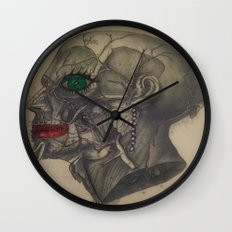 Beauty from the Inside Wall Clock