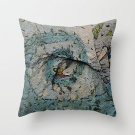 The Genie of the Lamp Throw Pillow