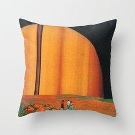 Perenniocentric Throw Pillow
