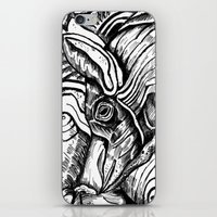 pig iPhone & iPod Skins featuring Pig by Ejaculesc