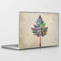 comic Laptop & iPad Skins featuring Like a Tree 2. version by Klara Acel