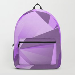 Meditation - Purple Abstract Backpack