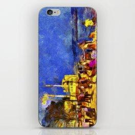 Istanbul At Night Van Gogh iPhone Skin
