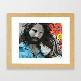 'Mr. Mojo Risin' And Pam' Framed Art Print
