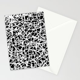 Graffiti invert Stationery Cards