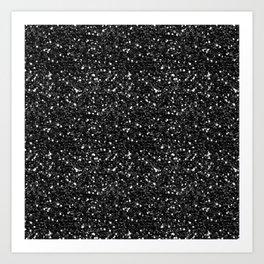 Black Diamond 01 Art Print