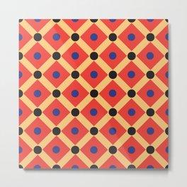 Egypt national textile ornament pattern Metal Print