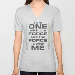 Force is with Me - Both Unisex V-Neck