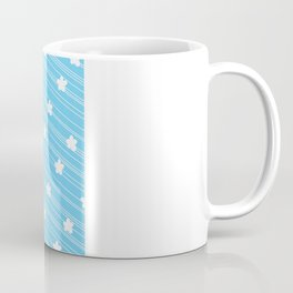 Pattern Eighties Blue Coffee Mug