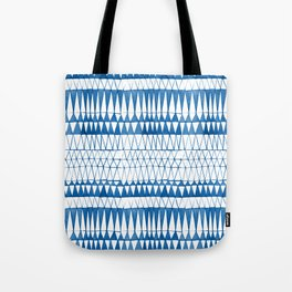 Tie Dye Batik Design Tote Bag