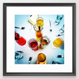 Boozy Brunch Framed Art Print