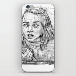 Medieval Blind Girl iPhone Skin