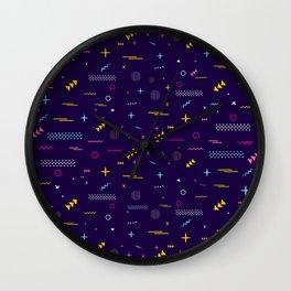 MEMPHIS III Wall Clock
