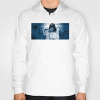 mia wallace Hoodies featuring Pulp Fiction - Mia Wallace by Rob O'Connor