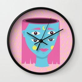 Cuatro Ojos Wall Clock